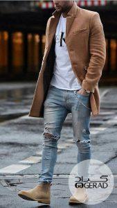 جین تی شرت گراد مردانه