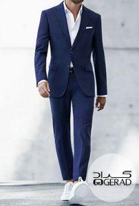 کت-شلوارمردانه بی کراوات
