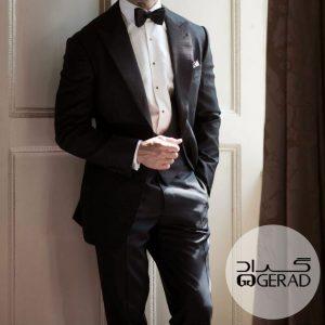 کت-شلوار بدون کراوات
