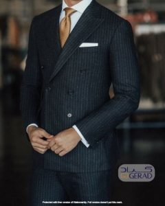 پوشت مردانه گراد و کراوات