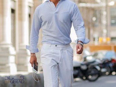 ست کردن پیراهن مردانه گراد